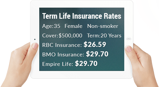 Bmo Term Life Insurance Quote Alluring Term Life Insurance  Instant Life Insurance